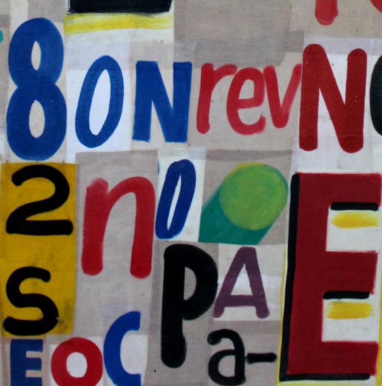 Exposição de Gabriela Rosa - Pinturas / Colagens